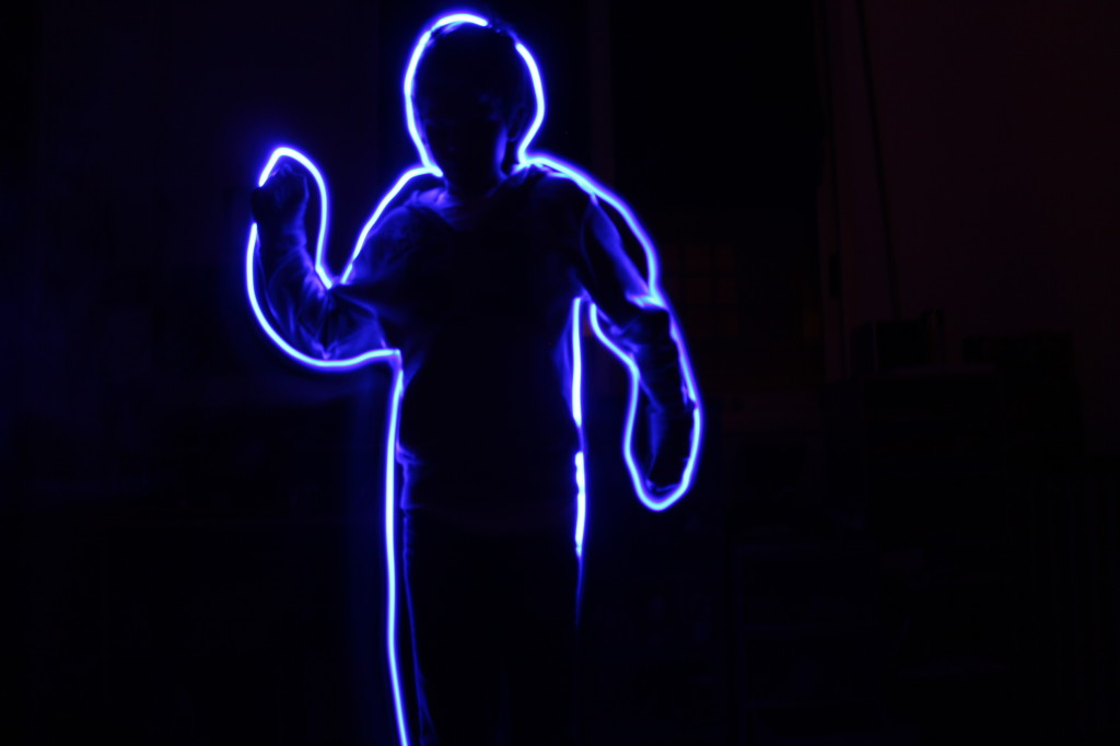 Light painting par Maël Barth - 2013