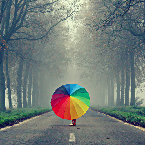 rainbow-umbrella