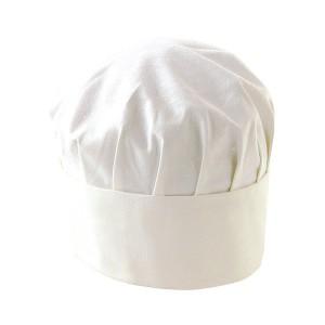 toque-de-cuisinier-coton-blanc