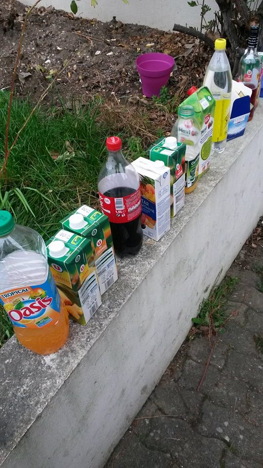 Toujours voir les bouteilles à moitié pleine, et jamais les bouteilles vides….