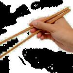 Manger avec  des baguettes… magiques